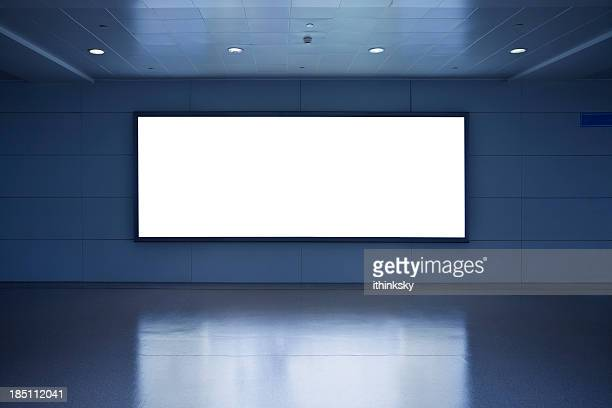 blank billboard - banner sign stock pictures, royalty-free photos & images