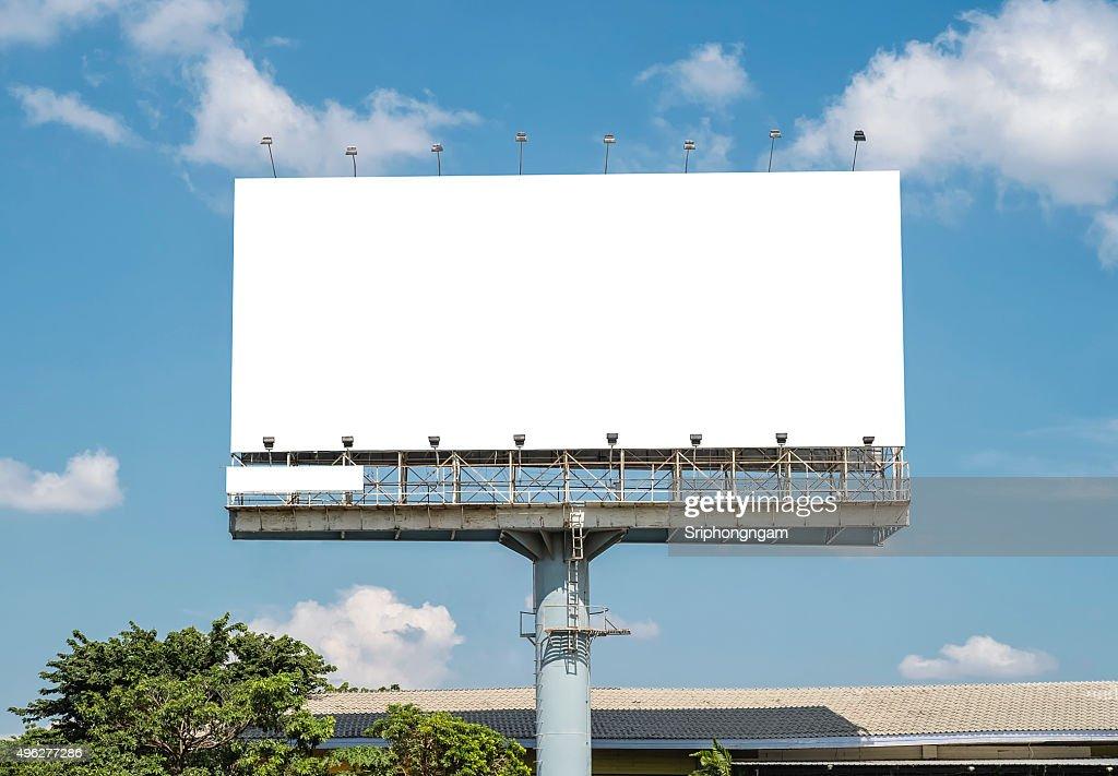 Blank Billboard Template : Stock Photo