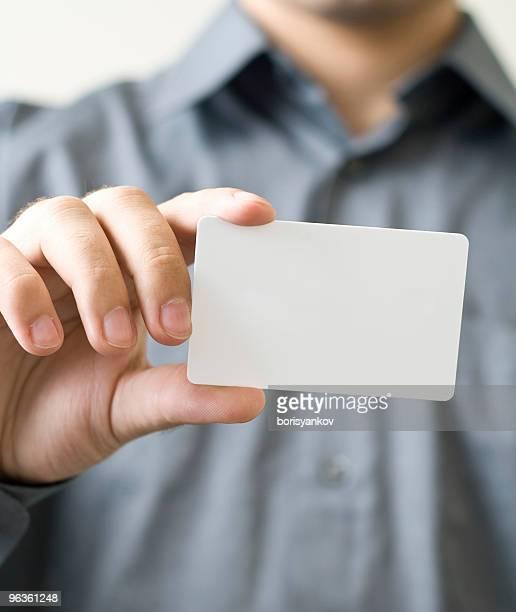 Blank Biz Card