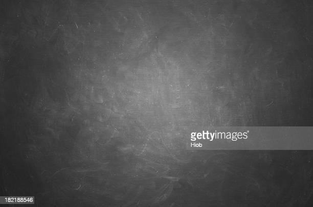 blank blackboard, black and white image