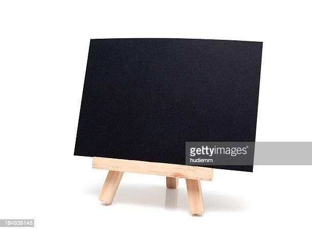 Blank Blackboard isolated on white background