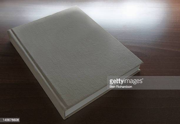 A blank book cover