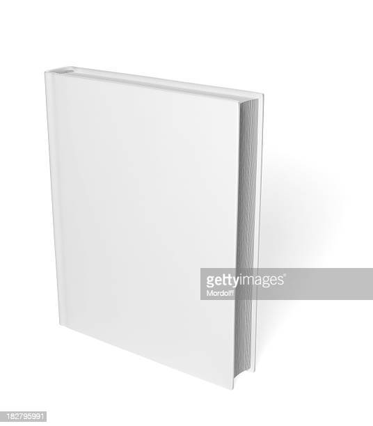 Blank Book isolated on white background