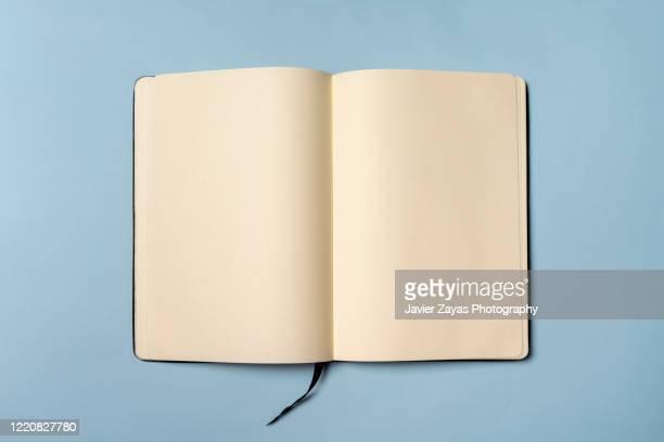 blank book - buch stock-fotos und bilder