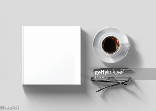 blank books for mock-up - book stock pictures, royalty-free photos & images