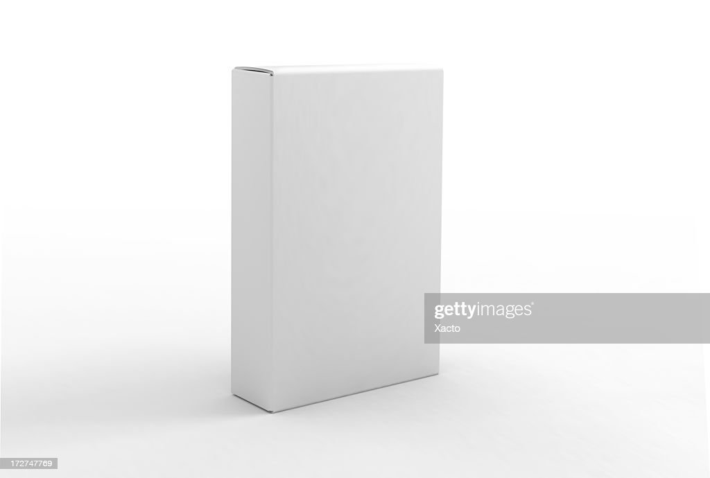 Blank box template stock photo getty images blank box template stock photo pronofoot35fo Images