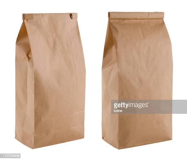 Blank Brown Coffee Bags