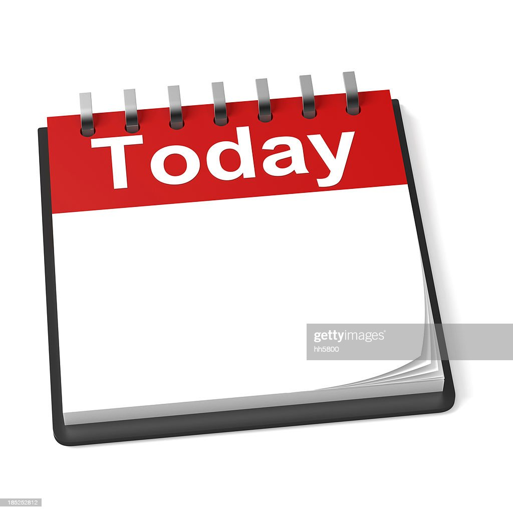 Leere Kalender : Stock-Foto
