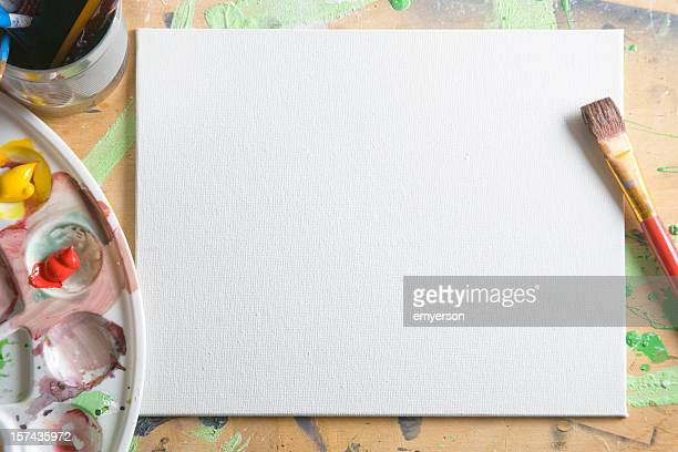 blank canvas - canvas stock pictures, royalty-free photos & images