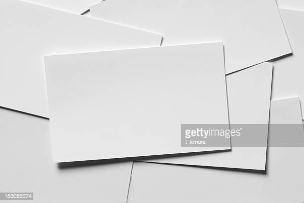 Cartão em branco