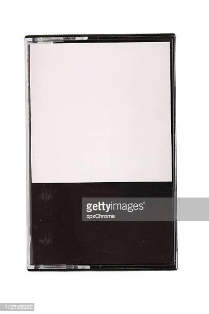Cassette de cinta en blanco