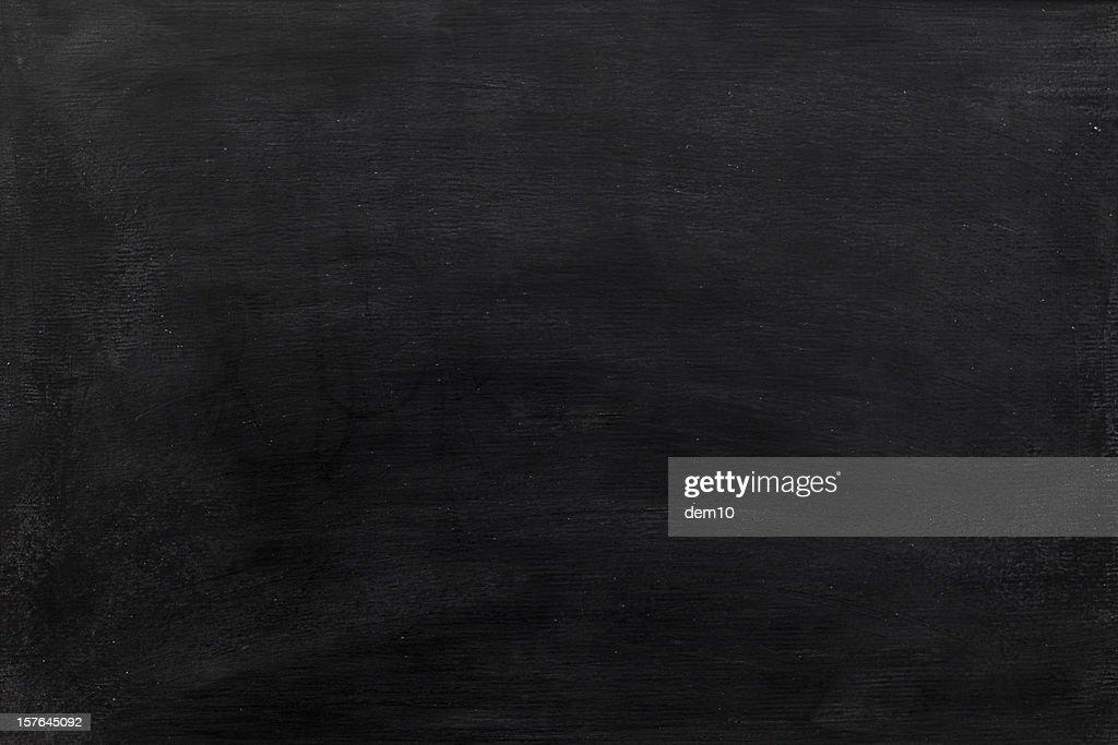 Blank chalkboard background : Stock Photo