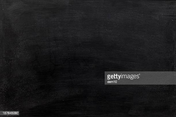 blank chalkboard background - blackboard stock photos and pictures