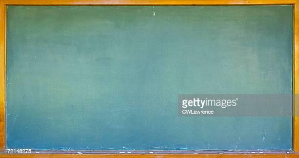 Blank chalkboard/blackboard with wooden frame