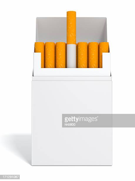 blank cigarette - cigarette pack stock pictures, royalty-free photos & images