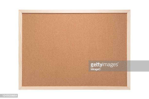 blank cork board - cork material stock photos and pictures