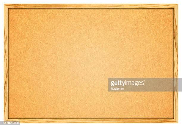 Leere Corkboard (Clipping path) (XXXL