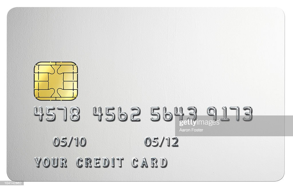 blank credit card stock photo getty images