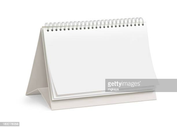 Leere Desktop-Kalender