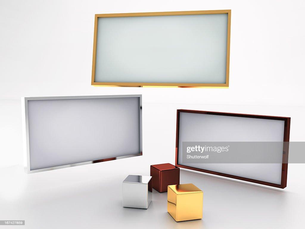 Muestra en blanco : Foto de stock