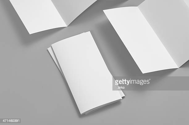 Blank flyer, 6-page, Z-fold (Accordion)