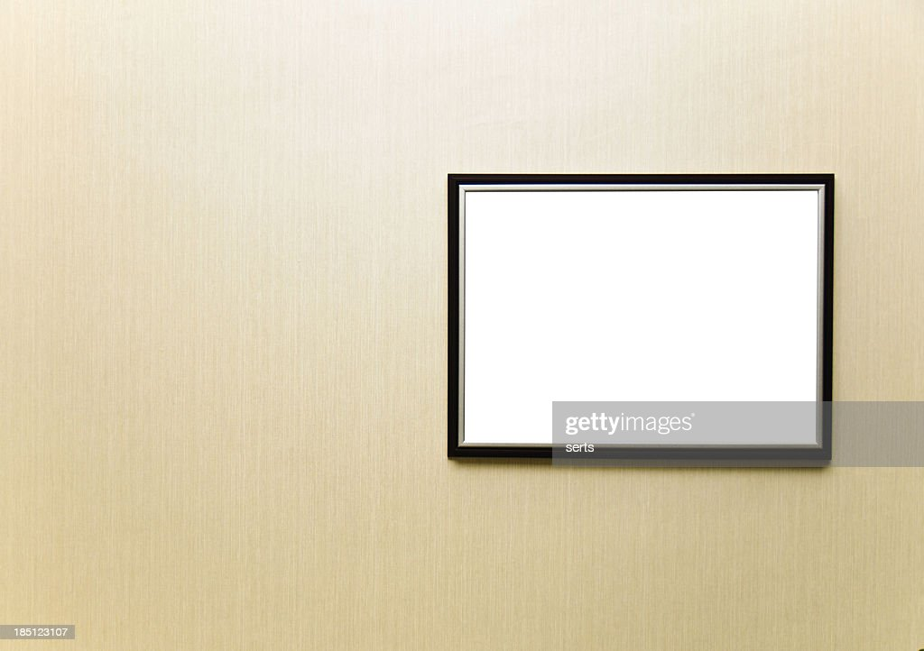 Blank Frame Stock Photo | Getty Images