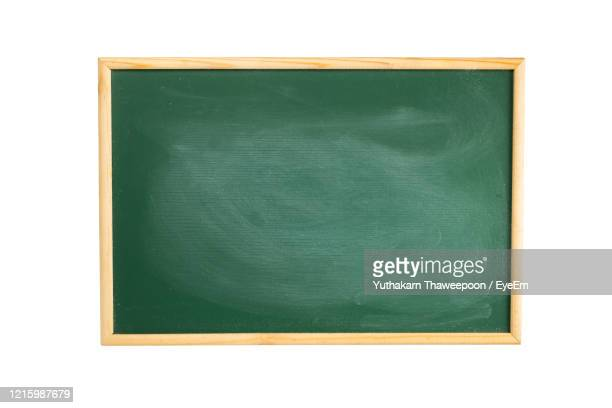 blank greenboard over white background - blackboard stock pictures, royalty-free photos & images