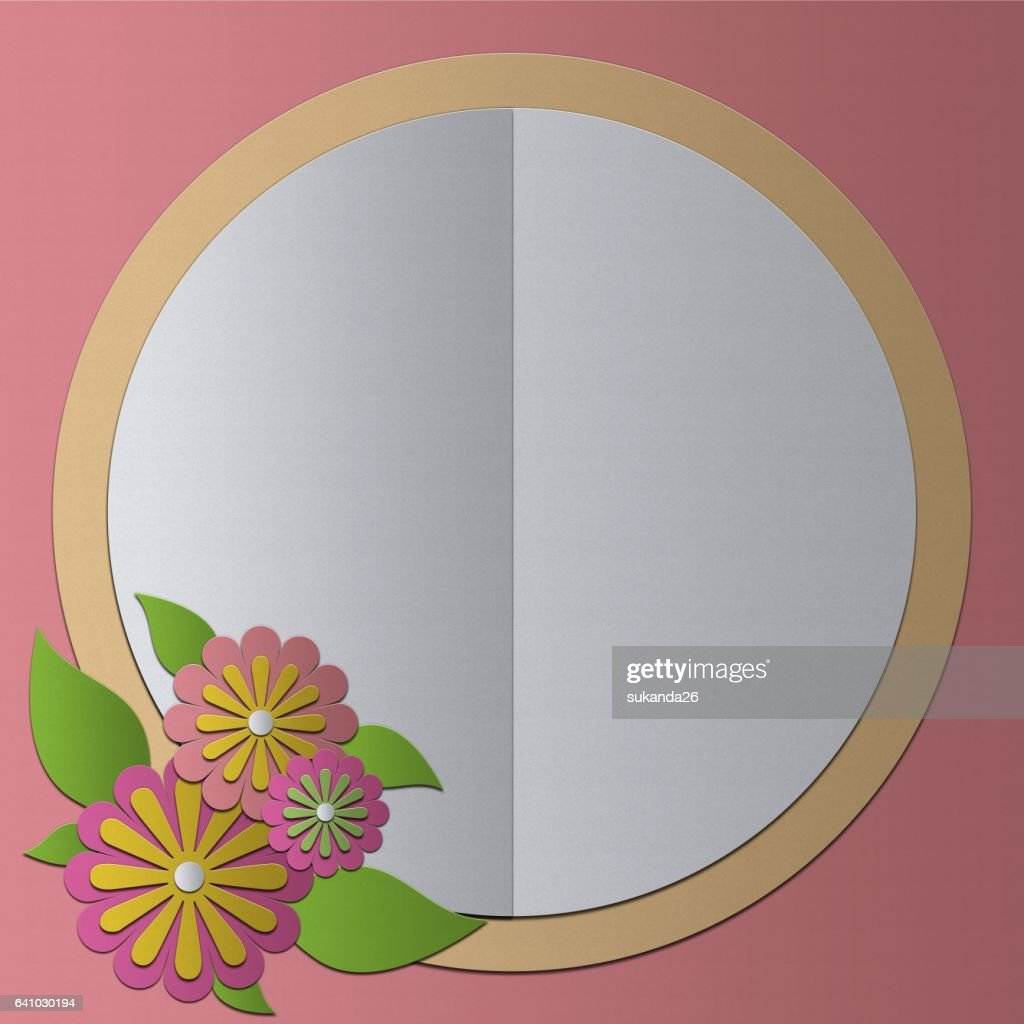 Blank Greeting Card Papercraft Vintage Style Stock Photo Getty Images