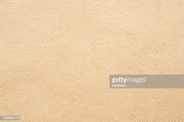 Blank handmade sheet of paper, isolated on white
