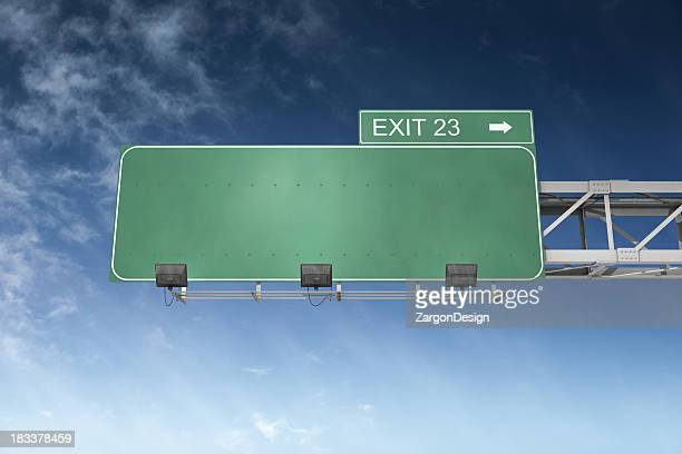 blank highway sign - road sign stock pictures, royalty-free photos & images