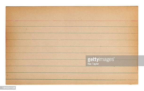 Blank Index Card