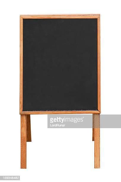 Blank information board
