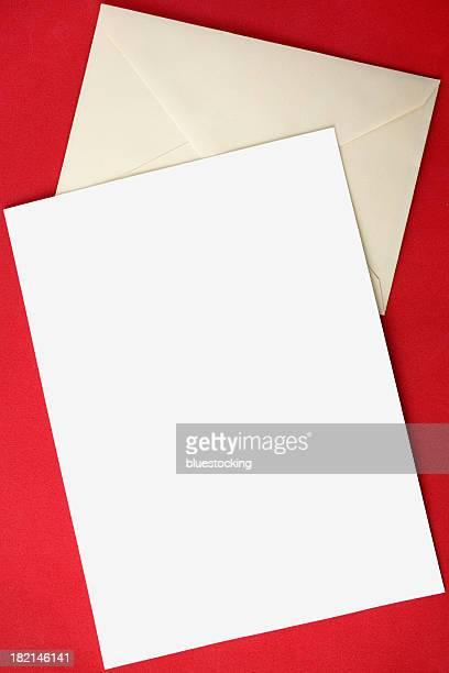 Blank Letter