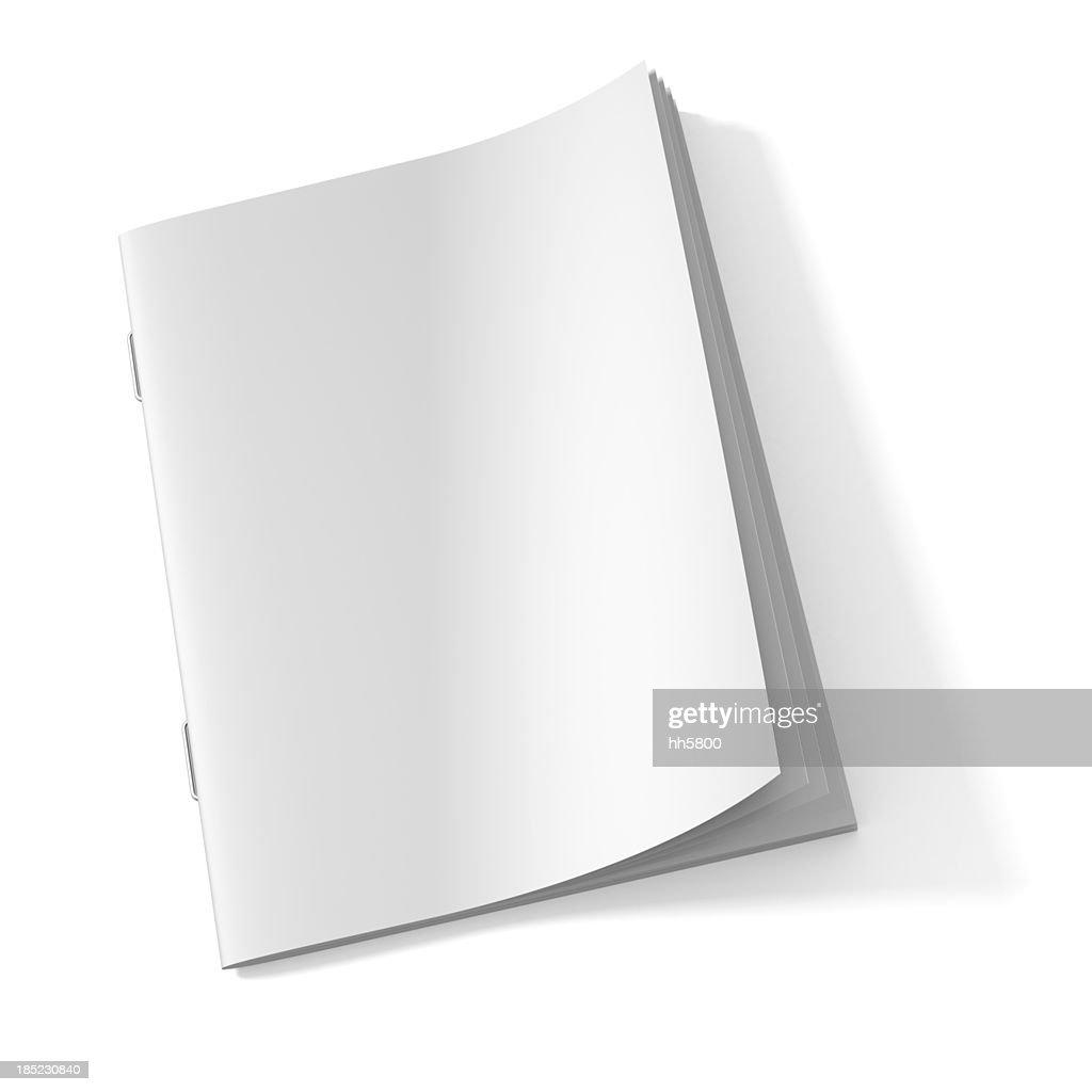 Blank Magazine book : Stock Photo