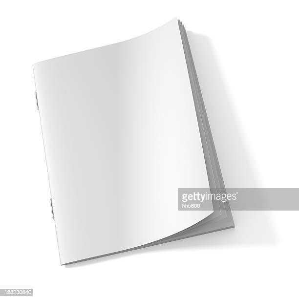 blank magazine book - blank stock pictures, royalty-free photos & images
