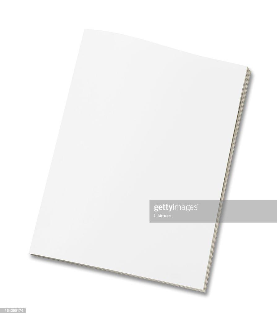 Blank magazine : Stock Photo