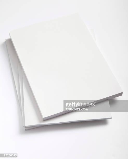 blank magazines cover - magazine page stock photos and pictures