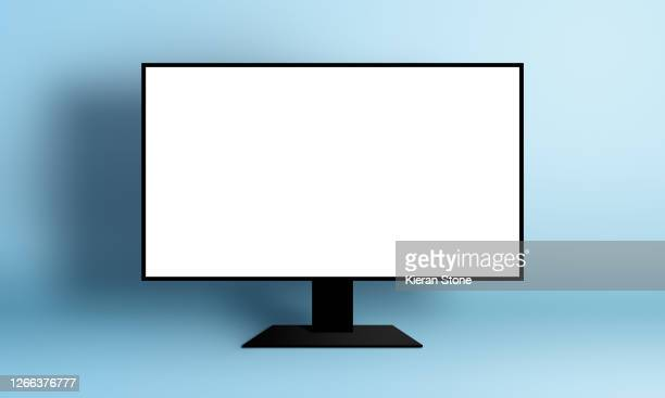 blank monitor screen - computer screen stock pictures, royalty-free photos & images