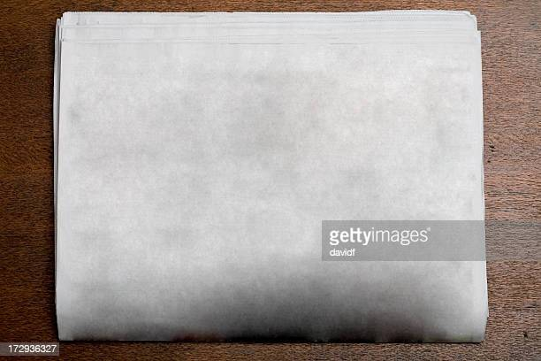 blank newspaper - newspaper stock pictures, royalty-free photos & images