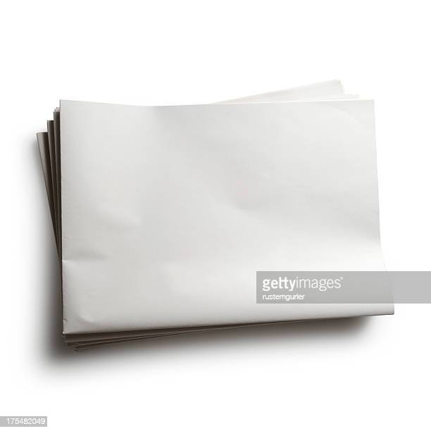 blank newspaper - blank stock pictures, royalty-free photos & images