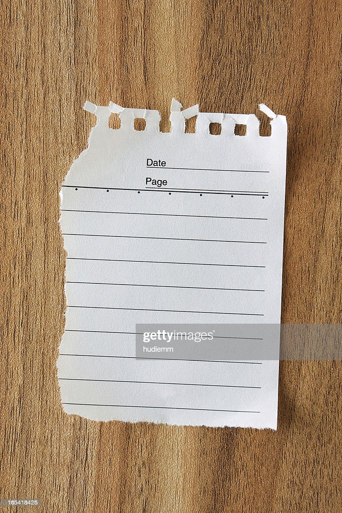 Blank Note Pad Paper Background Textured : Stock Photo  Blank Paper Background