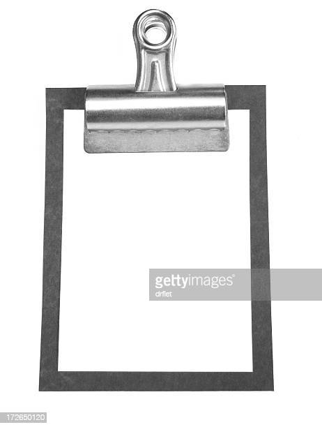 blank note - binder clip stock pictures, royalty-free photos & images