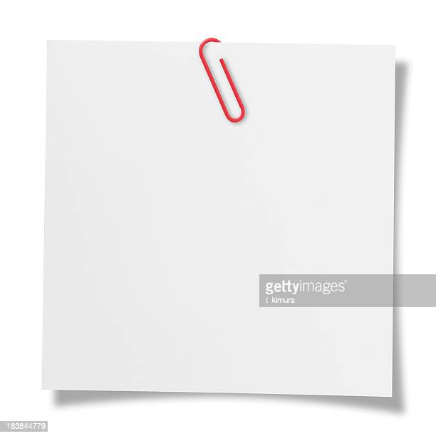 blank note - clip stock pictures, royalty-free photos & images