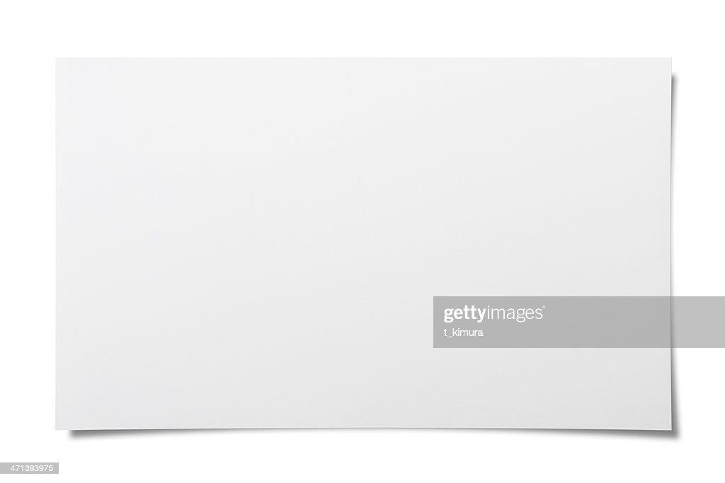 空白メモ : ストックフォト