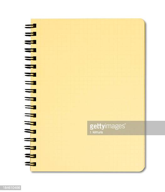 blank notepad - workbook stock photos and pictures