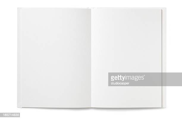 blank open book - workbook stock photos and pictures
