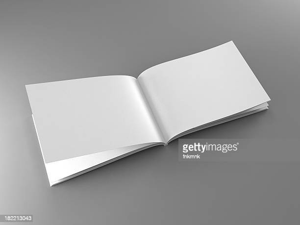 A blank open catalogue template