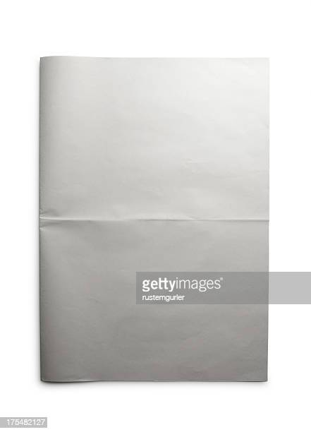 blank open newspaper - blank stock pictures, royalty-free photos & images