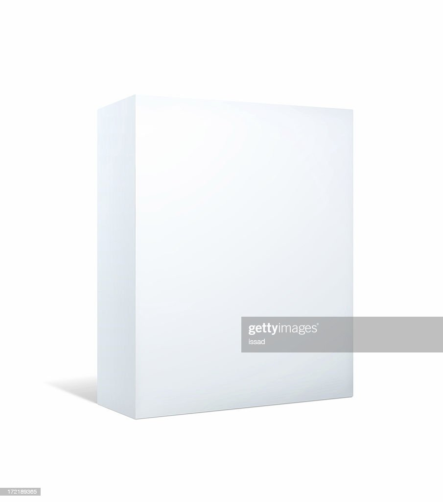 Blank Package II: Bigger With Clipping Paths : Stock Photo