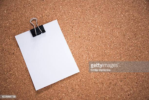 blank paper notice - lined paper stock photos and pictures